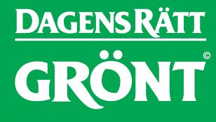 Logotyp - Dagens rätt grönt